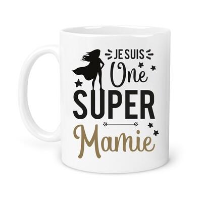"""Mug """"Une super"""" personnalisable"""