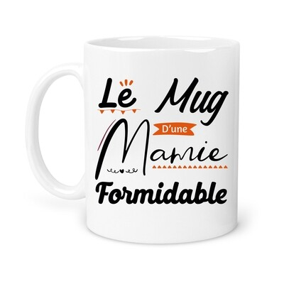 "Mug ""Mug mamie"" personnalisable"