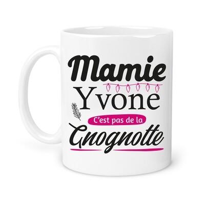 "Mug ""gnognotte"" personnalisable"