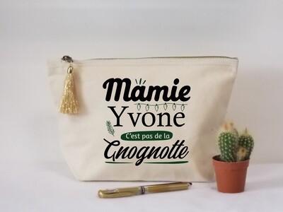 Trousse coton gnognotte personnalisable