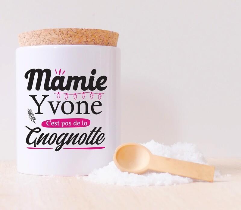 Pot en céramique mamie gnognotte personnalisable