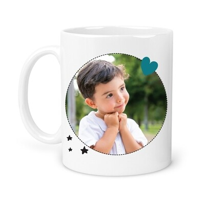 Mug mamie 1 photo personnalisable