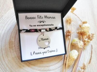 Bracelet Liberty Bonne Fête Maman
