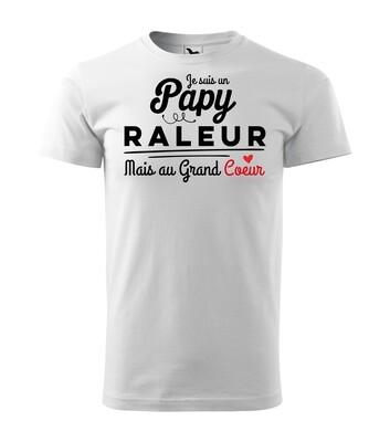 Tee shirt papy grand coeur