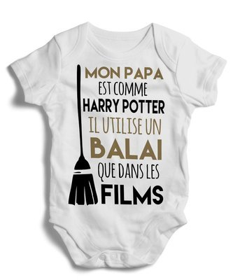 Body grenoullière papa Harry Potter