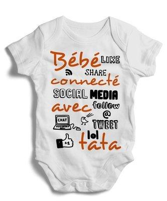 Body grenoullière bébé connecté