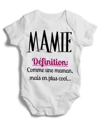 Body grenoullière Mamie définition