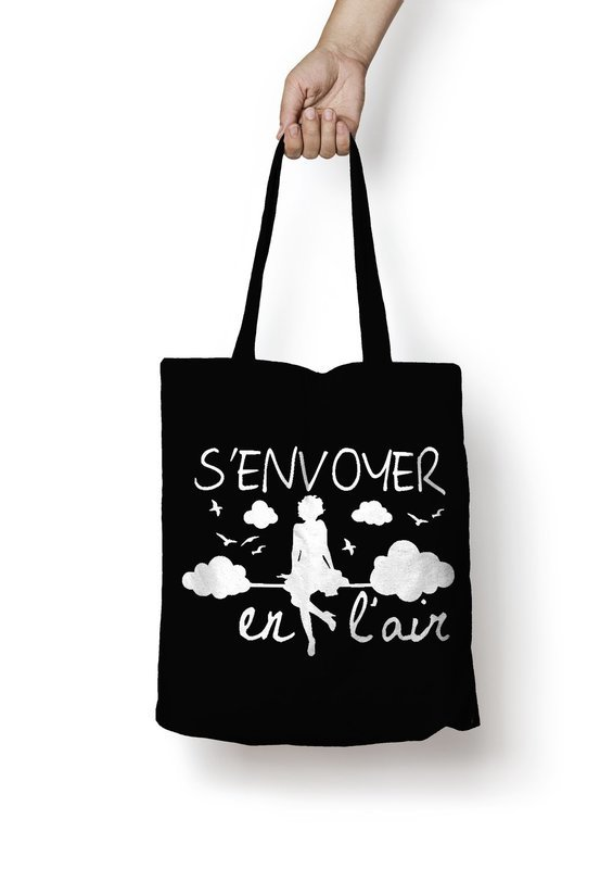 Sac shopping s'envoyer en l'air