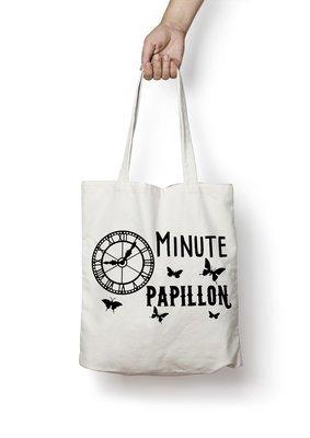 Sac shopping minute papillon