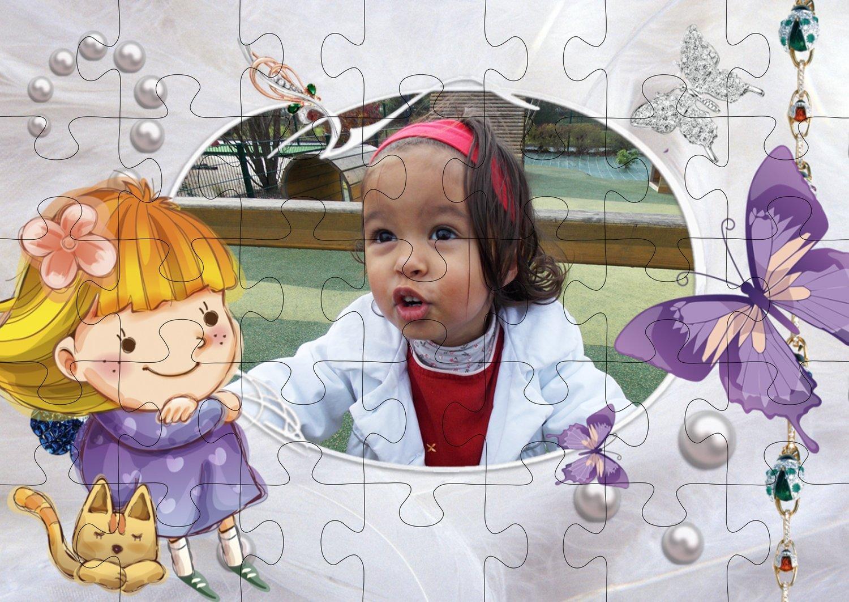 Puzzle montage princesse