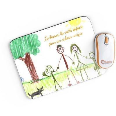 Tapis de souris le dessin de votre enfant