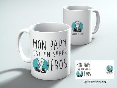 Mug Mon papy un héros