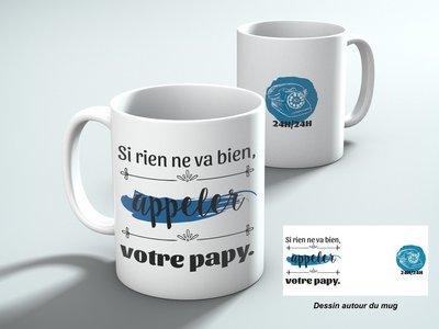 Mug appeler votre papy