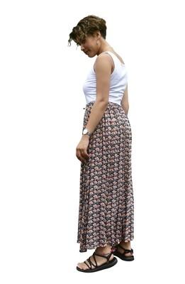 ビスコースギャザースカート