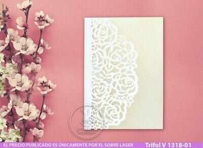 DIY Sobre de Corte Laser Trifold V 1318-001