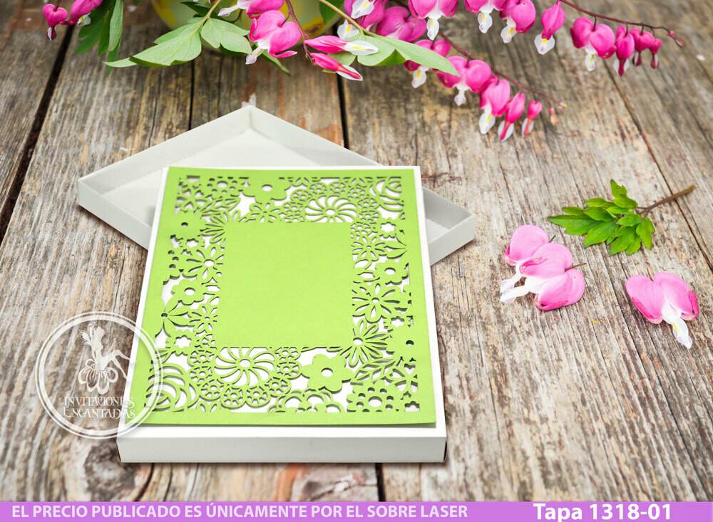 DIY Caja con cubierta laser Tapa 1318-01