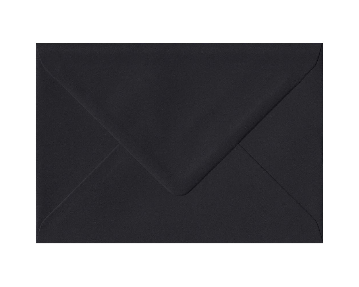 25 Sobres rectangular 13.7 x 18.7 cm 100g Burano Negro