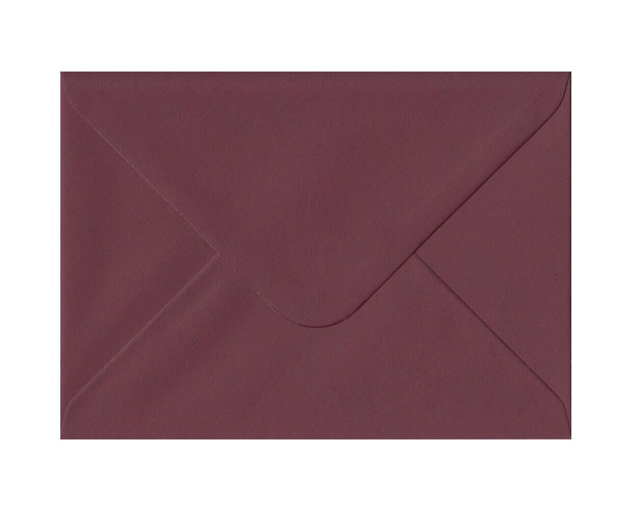 25 Sobres rectangular 15 x 22.5 cm 100g Burano Vino