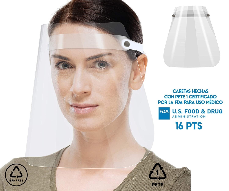 Careta PVC Protector Facial Máscarilla