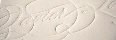 Impresión Bajo relieve 15x15 cms