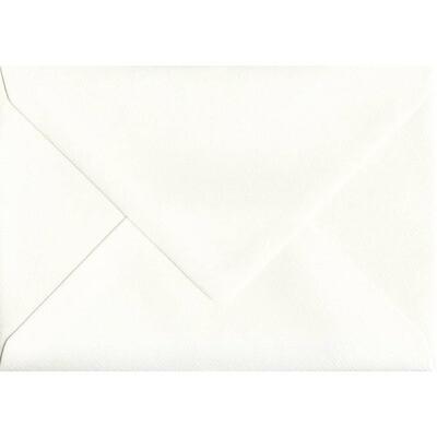 Sobre rectangular 11.5x15.5 cm Papel Hueso-Marfil Mate de 120g