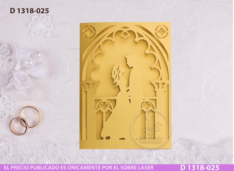 DIY Sobre Corte Laser D 1318-025