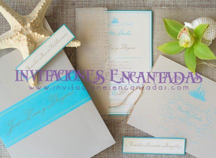 Invitación Boda Elegante Mar 01