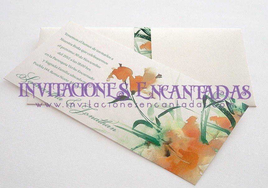 Invitación Boda Elegante 07