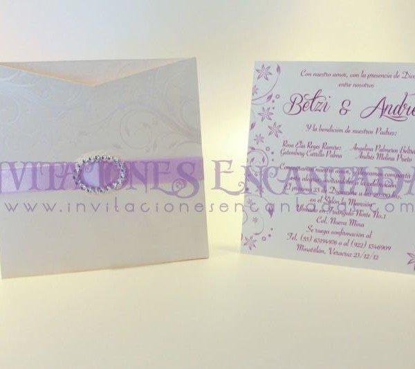 Invitación boda paris Invierno 03