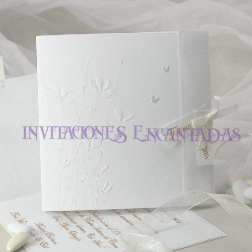 Invitación Boda de Paris Invierno 09
