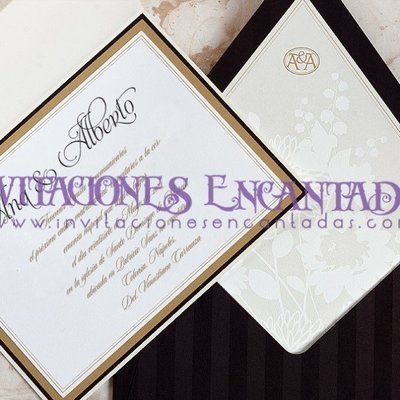 Invitación Boda Elegante 02