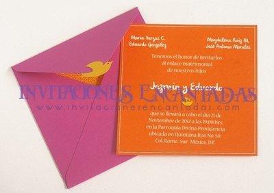 Invitación Boda Elegante 06
