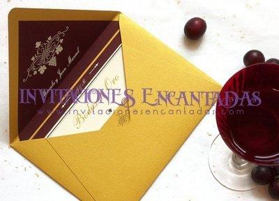 Invitación Boda Elegante 04