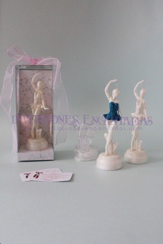 Invitación XV Caja Acetato Bailarina Ballet 20 cms