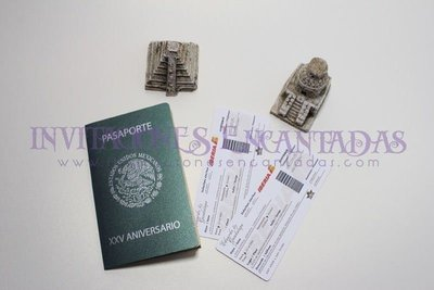 Invitación Pasaporte México Crative