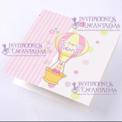 Invitación Bautizo BabySimple 02