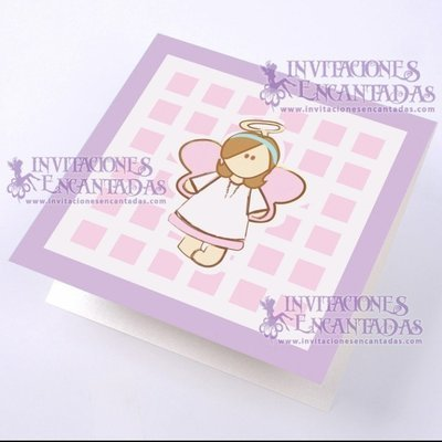 Invitación Bautizo BabySimple 09