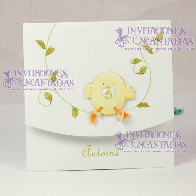 Invitación Bautizo Creative 04
