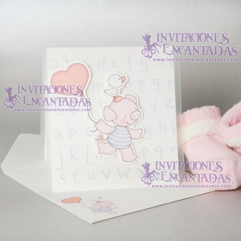 Invitación Bautizo Creative 012