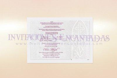 Invitación Corte Laser Religiosa 06B