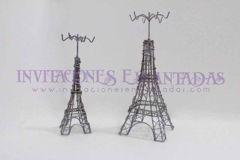 Joyero Torre Eiffel de Forja Artesanal
