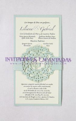 Invitación Corte Laser Cintillo 04