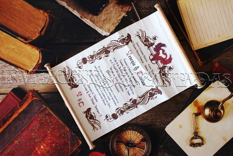 Invitación Medieval 05