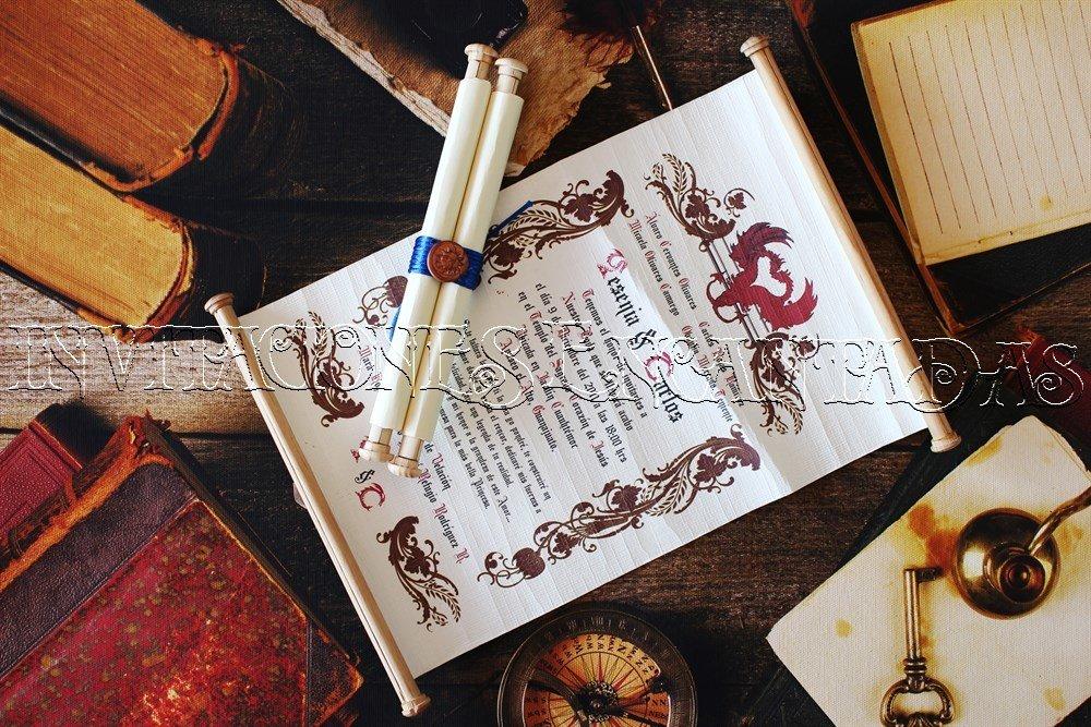 Invitación Medieval 03