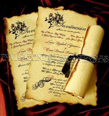 Invitación Medieval 13