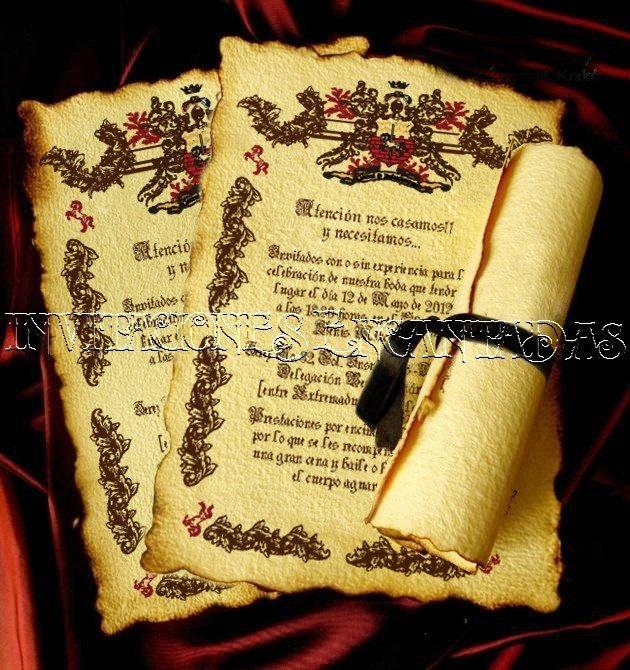 Invitación Medieval 14