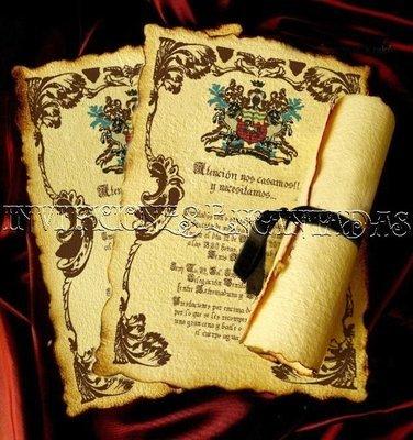 Invitación Medieval 15