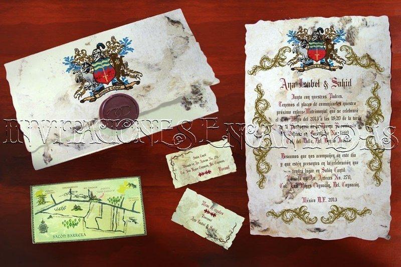 Invitación Medieval 18
