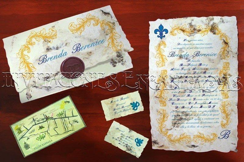 Invitación Medieval 19