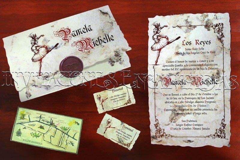 Invitación Medieval 26